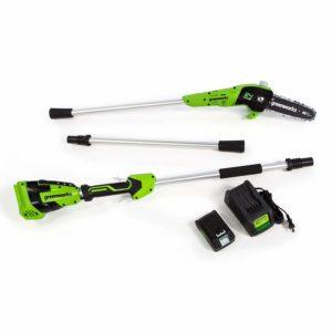Greenworks 8-Inch 24V Cordless Pole Saw