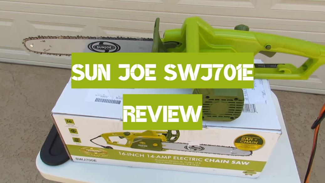 Sun Joe SWJ701E Review